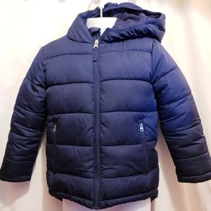 Faded Glory Hooded Puffer Jacket- Size XS